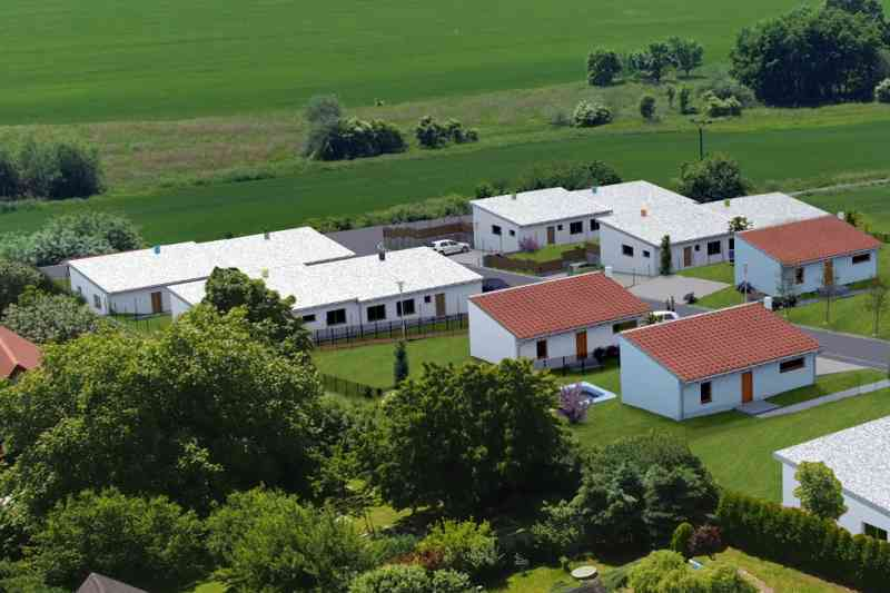 Rodinné domy Dražky